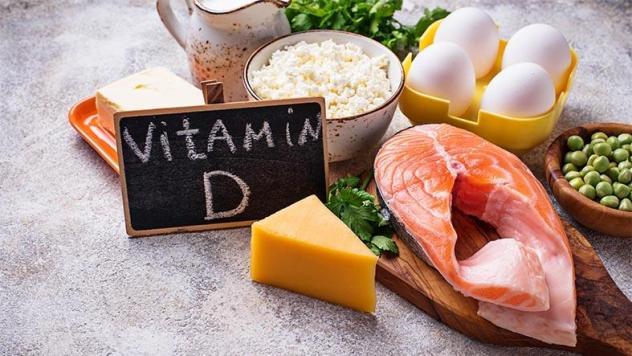 فيتامين د و سمك و حبوب و بيض
